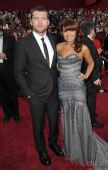 第82届奥斯卡颁奖礼红毯:萨姆-沃辛顿和女友
