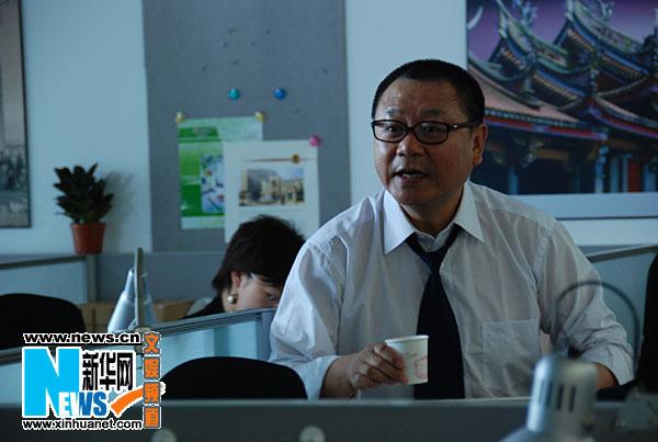 图:电视剧《老大的幸福》演员 范伟饰傅吉祥
