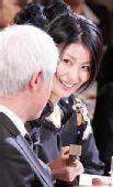图:第33届日本电影学院奖--松隆子台下开心
