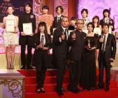 图:第33届日本电影学院奖--获奖者大合影