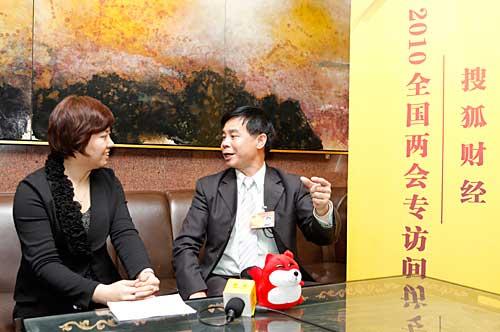 搜狐财经专访全国人大代表、志高空调董事长李兴浩