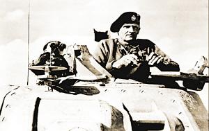1942年11月,蒙哥马利元帅在北非战场。