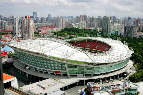 上海申花:上海虹口体育场