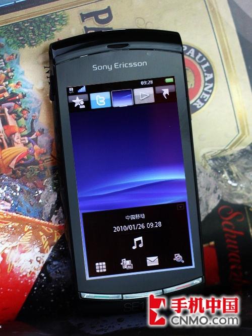 720P高清摄像 索尼爱立信U5i体验评测