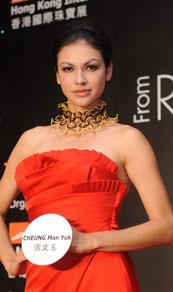 第27届香港国际珠宝展,情迷俄罗斯派对,名模rosemarry
