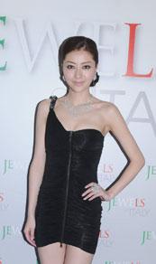 第27届香港国际珠宝展,名模熊黛林