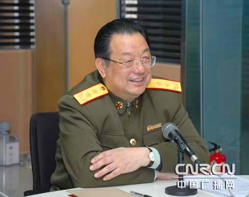 国防大学副政委李殿仁中将