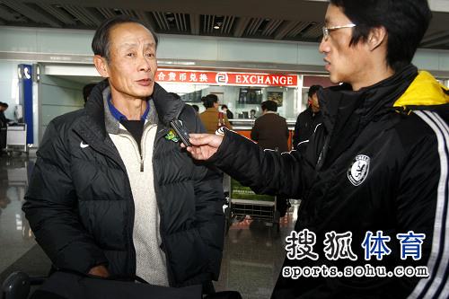洪元硕接受搜狐体育采访