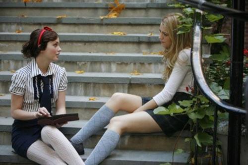 《绯闻女孩》半截学生袜之Serena-2