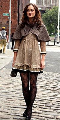 《绯闻女孩》蕾丝网袜之Blair-3