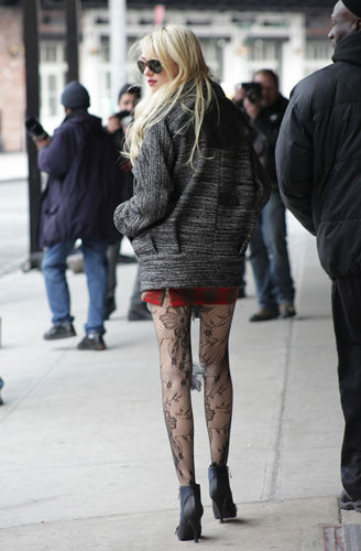 《绯闻女孩》蕾丝网袜之Jenny-1