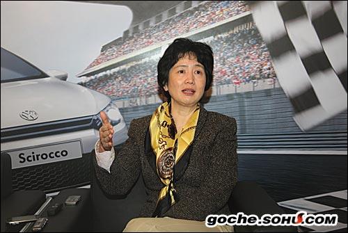 大众进口汽车销售有限公司运营总经理申筱洁女士