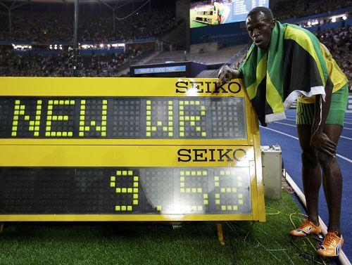 博尔特 2009年柏林世锦赛男子100米冠军