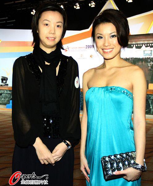 张怡宁和香港小姐