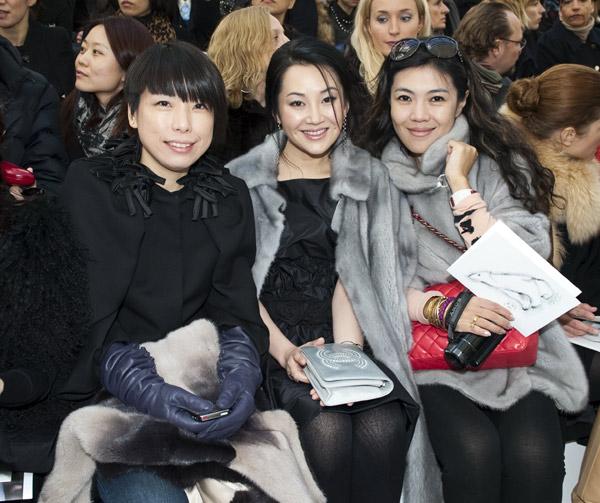 明星时尚周报:许晴香奈儿巴黎之旅图片
