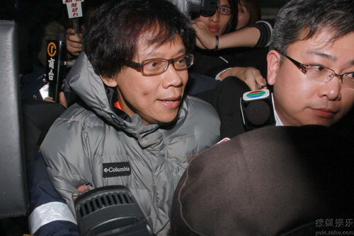 TVB高层陈志云被捕