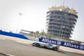 图文:F1巴林站第二次练习赛 车王舒马赫练习中