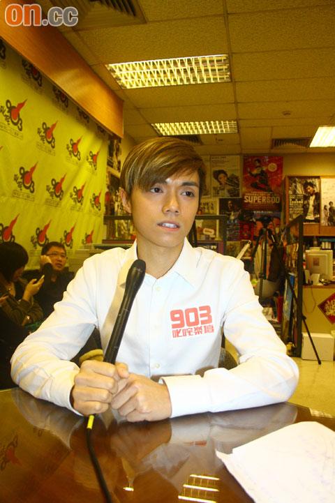 张敬轩对陈志云被拘捕感到震惊