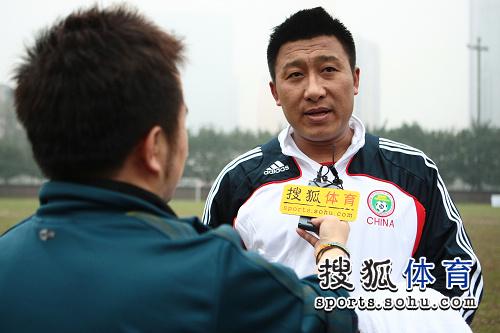 搜狐采访前国足名将 张恩华谈恐韩症