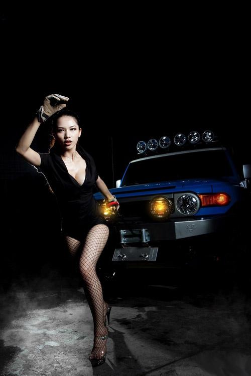 汽车文化生活娱乐 美女车模