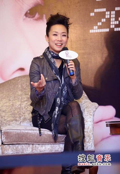 林忆莲对北京演唱会充满信心