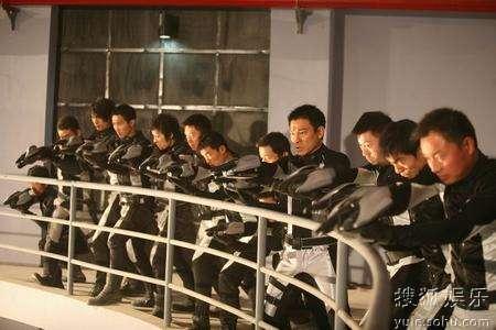 奥运团队与刘德华一起亮相