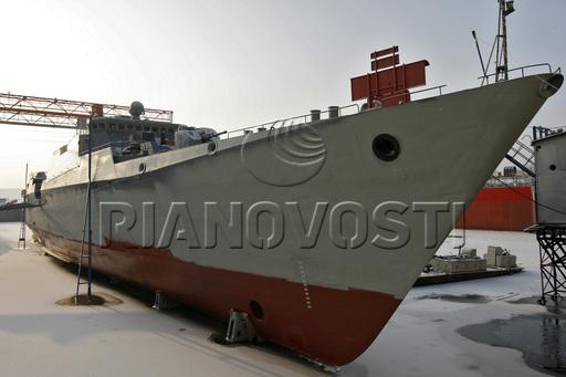 俄罗斯为越南所造第2艘猎豹级护卫舰已下水