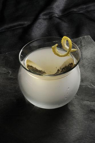"""""""烟熏马丁尼""""(Smoky Martini)"""