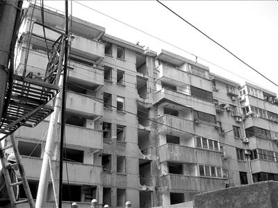 四排房屋设计图