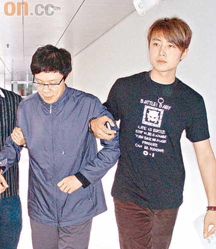 陈志云(左)与丛培昆(右)三年情难断