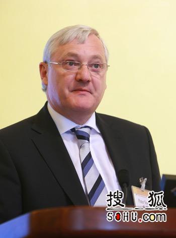 皇家荷兰/壳牌石油集团首席执行官傅赛(搜狐-王玉玺/摄)
