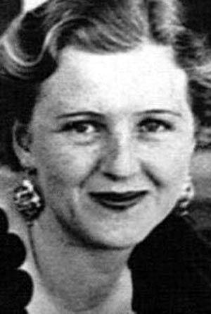 希特勒的妻子埃娃・布劳恩。