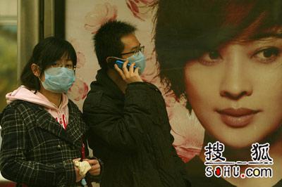 沙尘暴再袭北京