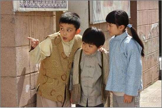 三小童星齐聚《天涯赤子心》