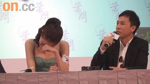 子丹大讲熊黛林与郭富城的绯闻,令熊黛林尴尬不已