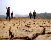 图:部分地区达到特大干旱等级