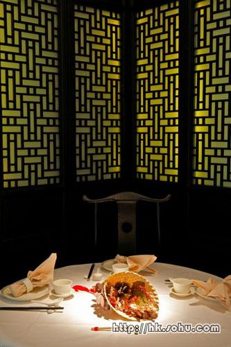 餐厅的内部设计甚有心思