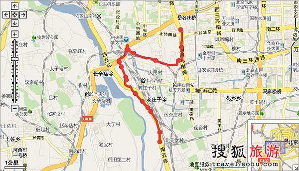313路线路图