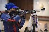 图文:悉尼站女子10米气步枪 苏亚妮获得第二名