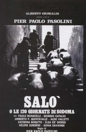 《索多玛的120天》海报