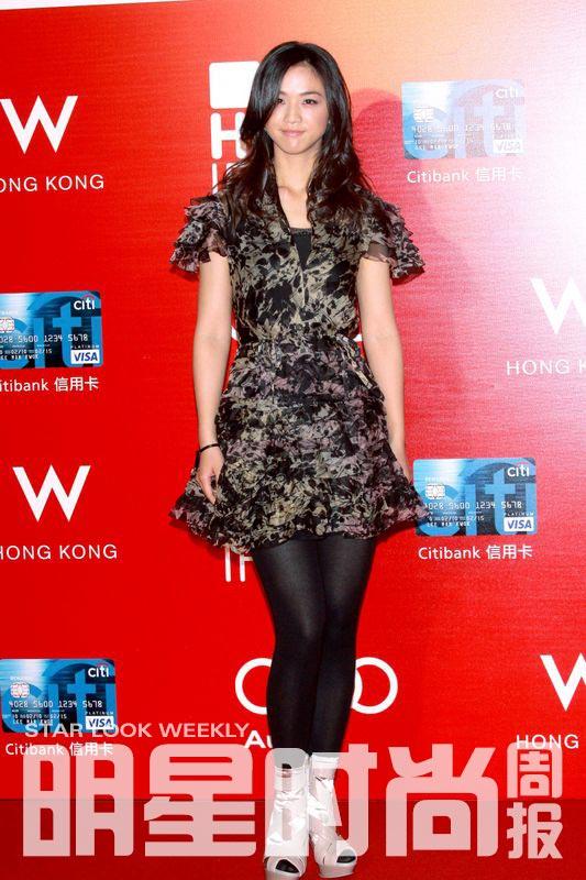 汤唯现身第34届香港国际电影节开幕仪式