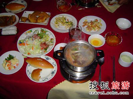 精彩爆料:朝鮮團餐八卦事 (組圖)-搜狐旅游圖片
