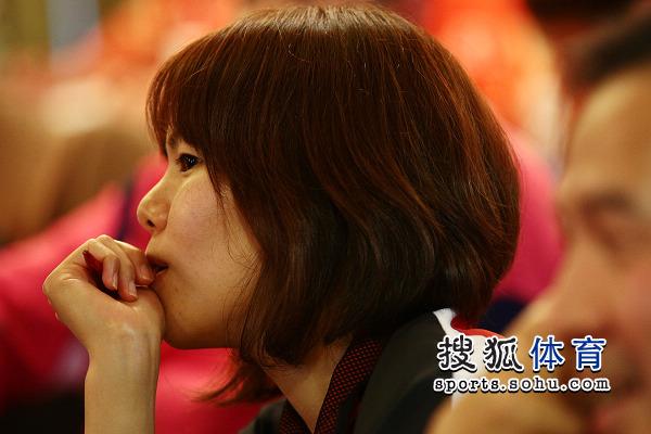 图文:乒乓球亚洲杯抽签仪式 日本选手亮相