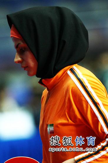 伊朗女将戴头巾比赛