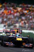 图文:F1澳大利亚站排位赛 维特尔领先众车手