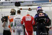 图文:F1澳大利亚站排位赛 车手赛后称重