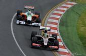图文:F1澳大利亚站排位赛 里尤兹追赶小塞纳