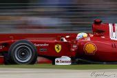图文:F1澳大利亚站排位赛 马萨比赛中特写