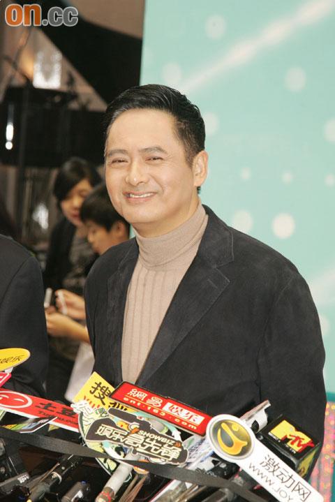 周润发呼吁大家原谅郑中基和蔡卓妍,估计他俩有苦衷