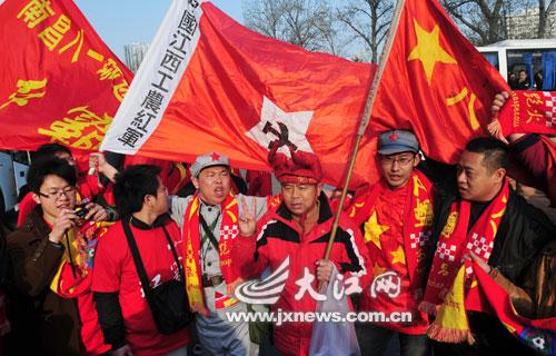 """""""红军""""北京会师"""